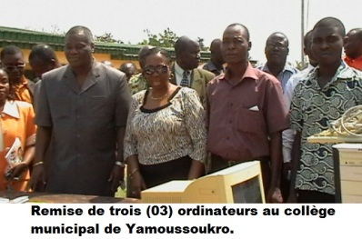 ordinateurs au college municipal